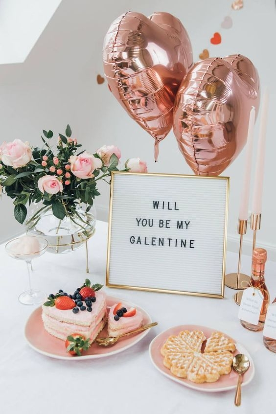 Stylish Valentines Day Decoration Ideas That You Will Love It 38
