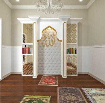 Amazing Praying Room Design Ideas To Bring Your Ramadan More Beautiful 25