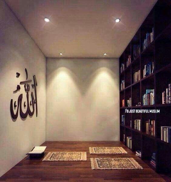 Amazing Praying Room Design Ideas To Bring Your Ramadan More Beautiful 28