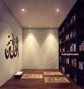 Amazing Praying Room Design Ideas To Bring Your Ramadan More Beautiful 28