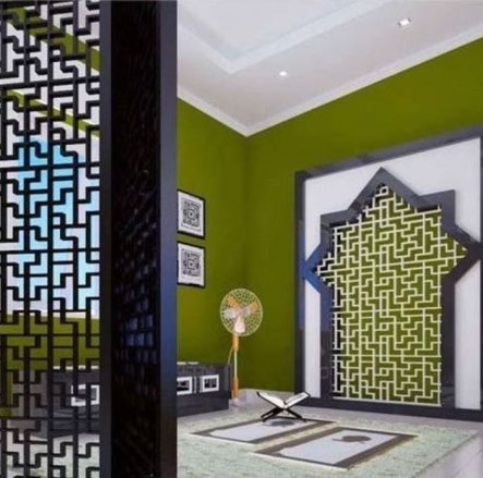 Amazing Praying Room Design Ideas To Bring Your Ramadan More Beautiful 38