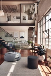 Best Noho Bachelor Loft Design Ideas With Stylish Gray Accents 14