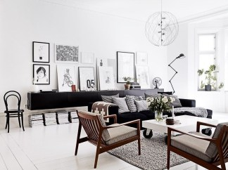 Best Noho Bachelor Loft Design Ideas With Stylish Gray Accents 37
