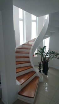 Brilliant Staircase Design Ideas For Small Saving Spaces To Try Asap 02