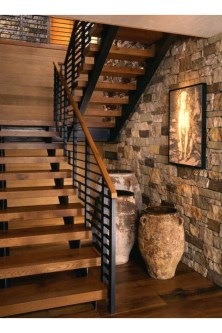 Brilliant Staircase Design Ideas For Small Saving Spaces To Try Asap 05