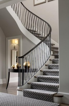 Brilliant Staircase Design Ideas For Small Saving Spaces To Try Asap 07