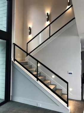 Brilliant Staircase Design Ideas For Small Saving Spaces To Try Asap 42