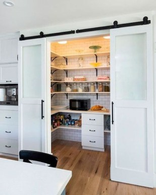 Incredible Kitchen Pantry Design Ideas To Optimize Your Small Space 08