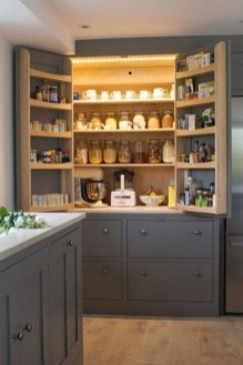 Incredible Kitchen Pantry Design Ideas To Optimize Your Small Space 20