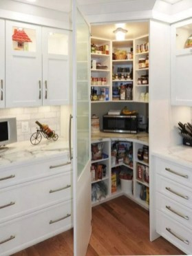 Incredible Kitchen Pantry Design Ideas To Optimize Your Small Space 33