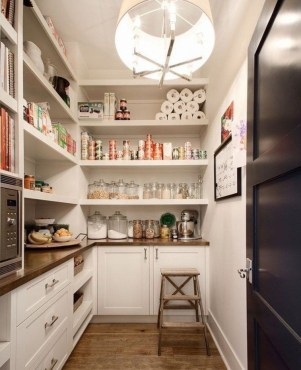 Incredible Kitchen Pantry Design Ideas To Optimize Your Small Space 34