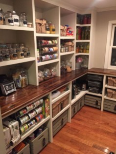 Incredible Kitchen Pantry Design Ideas To Optimize Your Small Space 38