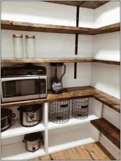 Incredible Kitchen Pantry Design Ideas To Optimize Your Small Space 39