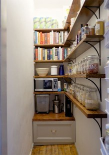 Incredible Kitchen Pantry Design Ideas To Optimize Your Small Space 50