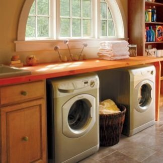 Inexpensive Tiny Laundry Room Design Ideas With Nature Touches 06