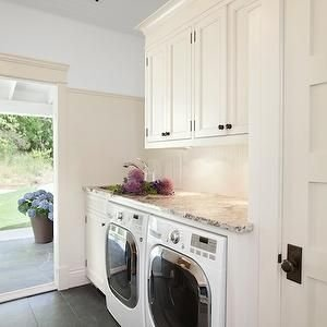 Inexpensive Tiny Laundry Room Design Ideas With Nature Touches 08