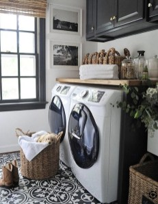 Inexpensive Tiny Laundry Room Design Ideas With Nature Touches 14