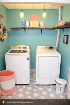 Inexpensive Tiny Laundry Room Design Ideas With Nature Touches 16
