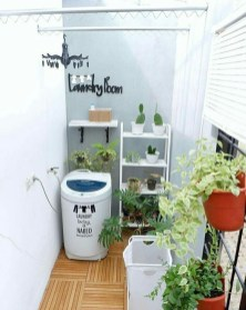 Inexpensive Tiny Laundry Room Design Ideas With Nature Touches 23