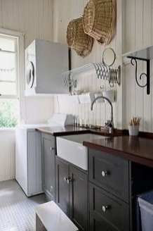 Inexpensive Tiny Laundry Room Design Ideas With Nature Touches 50