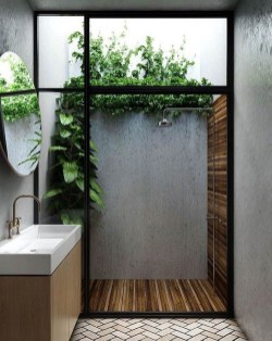 Sophisticated Outdoor Bathroom Design Ideas That Feel Like A Vacation 22