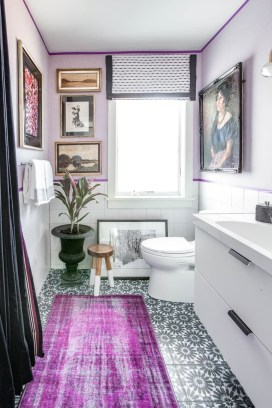Sophisticated Pink Colors Design Ideas To Transform Your Bathroom 17