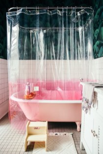 Sophisticated Pink Colors Design Ideas To Transform Your Bathroom 22