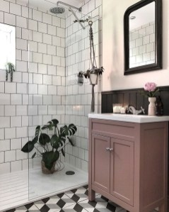 Sophisticated Pink Colors Design Ideas To Transform Your Bathroom 30
