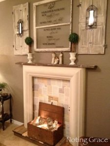 Superb Fireplaces Design Ideas Without Fire To Try In Your Home 14