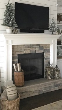 Superb Fireplaces Design Ideas Without Fire To Try In Your Home 18