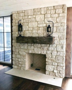 Superb Fireplaces Design Ideas Without Fire To Try In Your Home 26