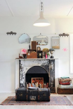 Superb Fireplaces Design Ideas Without Fire To Try In Your Home 33