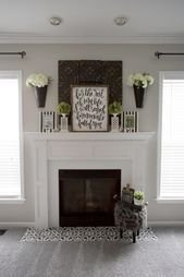 Superb Fireplaces Design Ideas Without Fire To Try In Your Home 34
