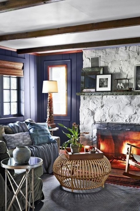 Superb Fireplaces Design Ideas Without Fire To Try In Your Home 37