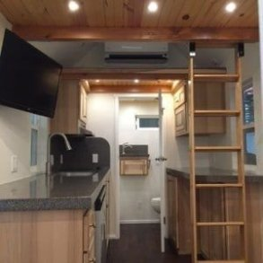 Adorable Tiny Houses Design Idea With 160 Square Feet That You Need To Try 39