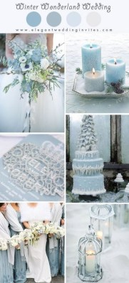 Astonishing Winter Wedding Theme Design Ideas With Winter Inspired 03