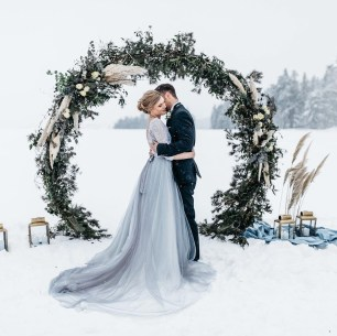 Astonishing Winter Wedding Theme Design Ideas With Winter Inspired 31