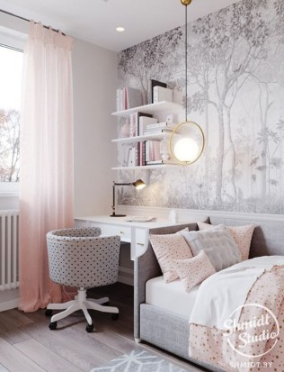 Beautiful Girl Bedroom Design Ideas That Looks So Charming 18