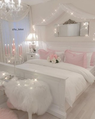 Beautiful Girl Bedroom Design Ideas That Looks So Charming 24
