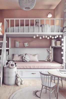Beautiful Girl Bedroom Design Ideas That Looks So Charming 25
