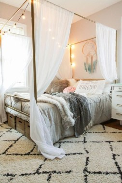 Beautiful Girl Bedroom Design Ideas That Looks So Charming 36