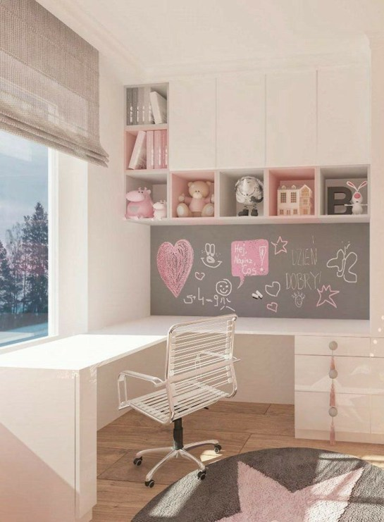 Beautiful Girl Bedroom Design Ideas That Looks So Charming 39