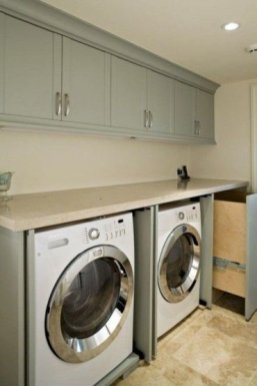 Best Tiny Laundry Spaces Design Ideas That So Functional 06
