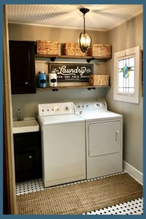 Best Tiny Laundry Spaces Design Ideas That So Functional 11