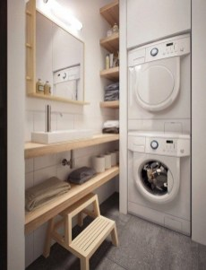 Best Tiny Laundry Spaces Design Ideas That So Functional 28