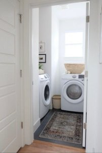 Best Tiny Laundry Spaces Design Ideas That So Functional 37