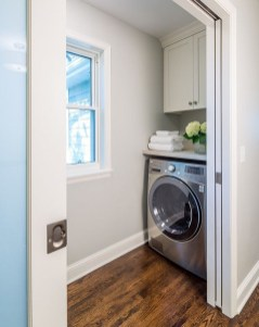 Best Tiny Laundry Spaces Design Ideas That So Functional 40