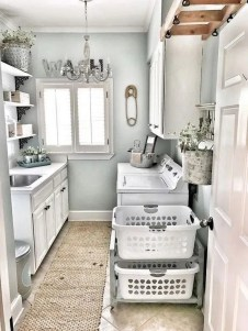 Best Tiny Laundry Spaces Design Ideas That So Functional 41