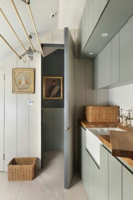 Best Tiny Laundry Spaces Design Ideas That So Functional 43