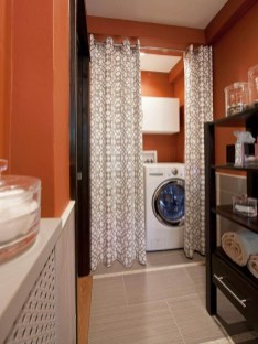 Best Tiny Laundry Spaces Design Ideas That So Functional 47